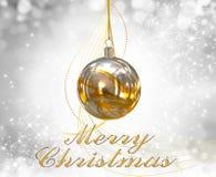 Christmas balls background Royalty Free Stock Photo