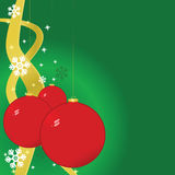 Christmas balls background Royalty Free Stock Photos