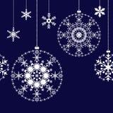 Christmas balls background Stock Image