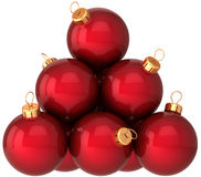 Christmas balls baubles (Hi-Res) Stock Image