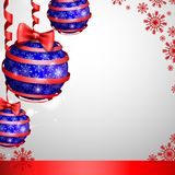 Christmas Balls. Celebratory Background. Vector Illustration. Eps 10 vector illustration