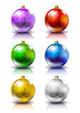 Christmas balls. Christmas decorations. Royalty Free Stock Image