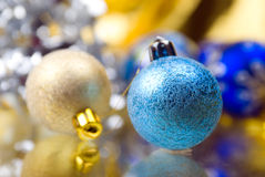 Christmas balls .christmas ornament Royalty Free Stock Image
