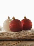 Christmas balls close up Royalty Free Stock Photo