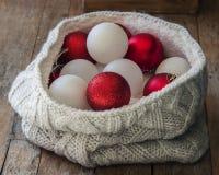 Christmas balls close up Stock Image