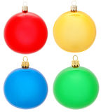 Christmas balls collection Stock Photo