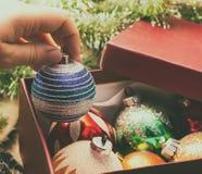 Christmas balls, decaration royalty free stock photos