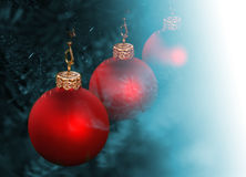 Christmas balls decoration royalty free stock images