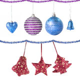 Christmas balls and decoration Stock Images
