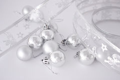 Christmas balls decoration Stock Image