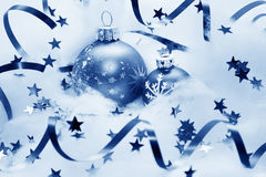 Christmas balls decoration Royalty Free Stock Photo