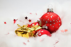 Christmas balls decoration Royalty Free Stock Image