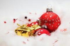 Christmas balls decoration Royalty Free Stock Image