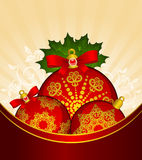 Christmas balls decoration Royalty Free Stock Photography