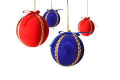 Christmas balls decoration Royalty Free Stock Photo
