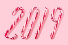 Christmas balls for decoration on a pink background. royalty free stock photography