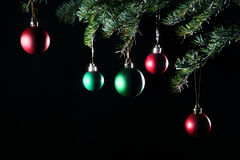 Christmas balls decorations Stock Images