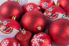 Christmas balls. Different Christmas balls, isolated on white background Royalty Free Stock Photos
