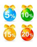 Christmas Balls Discount Stock Photos