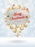 Christmas balls. EPS 10 Royalty Free Stock Photography