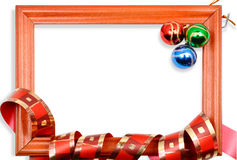 Free Christmas Balls Frame Stock Photography - 15625802