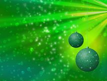 Christmas balls generated hires texture Royalty Free Stock Photography