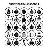 Christmas Balls Icons. For web design and application interface, also useful for infographics. Vector illustration vector illustration