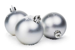 Christmas balls isolated Stock Photography