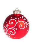 Christmas balls isolated Royalty Free Stock Photography