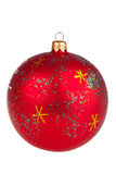Christmas balls isolated Royalty Free Stock Image