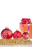 Christmas balls isolated Stock Photos