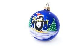 Christmas balls isolated on white background.  Stock Photos