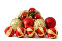 Christmas balls nd Stock Photo