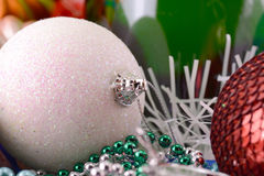 Christmas balls, new year decoration Stock Photography