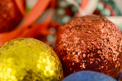 Christmas balls. new year decoration Stock Photography