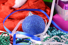 Christmas balls, new year decoration Royalty Free Stock Photo