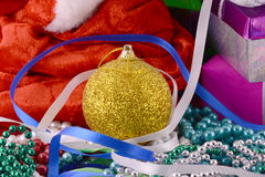 Christmas balls, new year decoration Stock Images