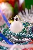Christmas balls, new year decoration, close up Royalty Free Stock Image