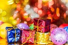 Christmas balls ornament Stock Photography