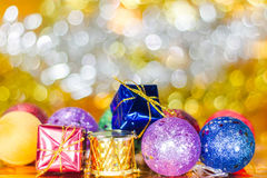 Christmas balls ornament Stock Images