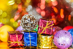 Christmas balls ornament Stock Photo