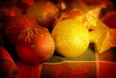 Christmas balls ornaments Royalty Free Stock Image