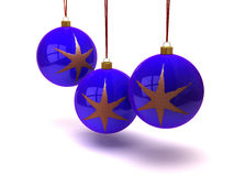 Christmas balls and ornaments Royalty Free Stock Images