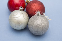 Christmas balls ornaments for decoration Royalty Free Stock Image