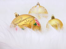 Christmas Balls Ornaments - Stock Photo Royalty Free Stock Photos