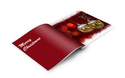 Christmas balls picture book Stock Image