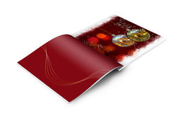 Christmas balls picture book Stock Photography