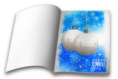 Christmas balls picture books Stock Photos