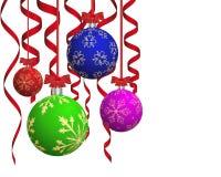 Christmas balls Stock Photography