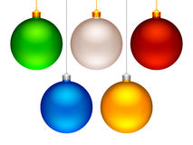Christmas balls. Royalty Free Stock Photos